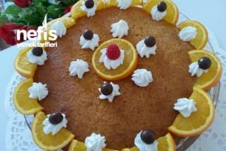 Portakallı Kremalı Revanı 1