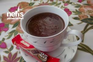 Sıcak Çikolata Yapımı Tarifi
