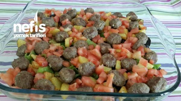 Fırında Patlıcan Yemeği