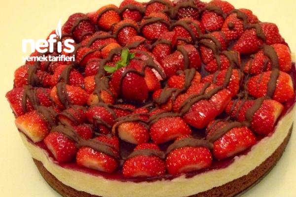 Çilekli Cocostar Pasta Tarifi