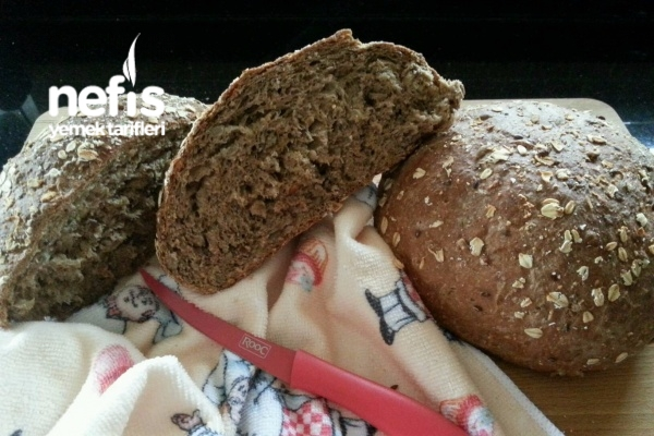 Yulaflı Bol Tahıllı Ekmek Tarifi