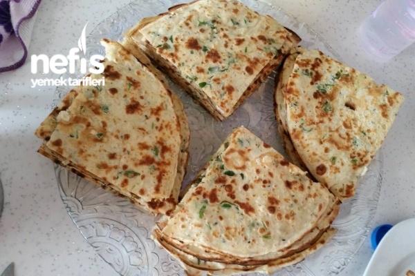 Çörek Otlu Maydanozlu Nefis Krep Tarifi