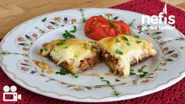 Fırında Patates Püreli Patlıcan Kebabı Tarifi