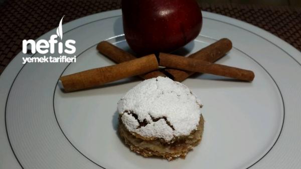 Elmalı Bisküvili Pasta Tarifi