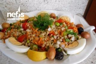İlkbahar Buğday Salatası Tarifi