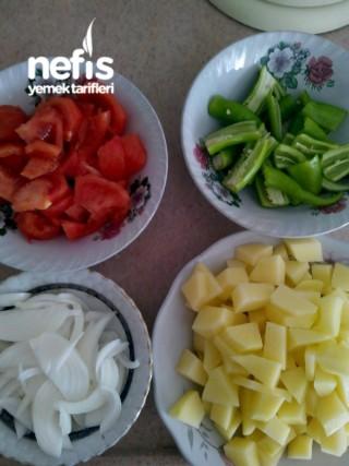 Patates Kavurması (domatesli, Biberli ,soğanlı)