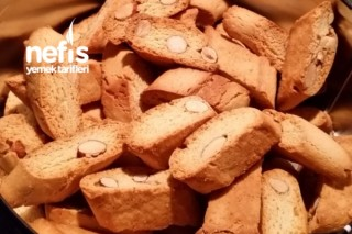 İtalyan Kurabiyesi Biscotti Tarifi