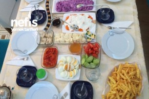 İkinci Ailemle Kahvaltı Tarifi