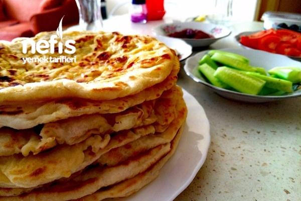 Mayali Patatesli Tava Ekmekleri