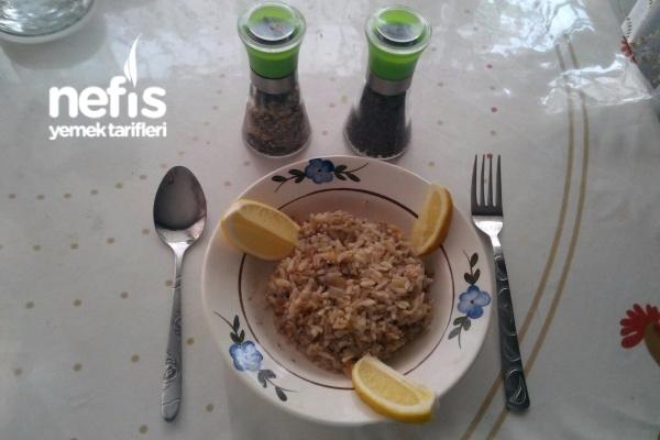 Ton Balıklı Pilav (midye Dolması Tadında)