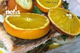 Portakallı Somon