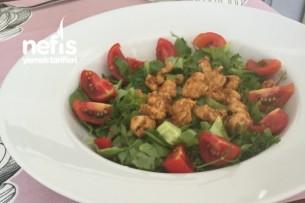 Semizotlu Tavuk Salatası Tarifi