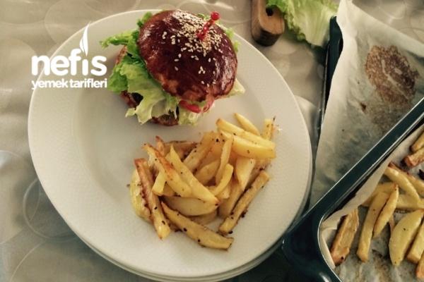 Ev Yapımı Hafif Hamburger Menü Tarifi