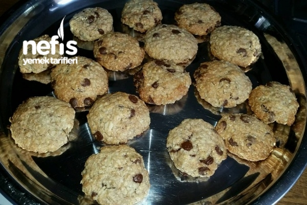 Kolay Yulaf Cookies Tarifi