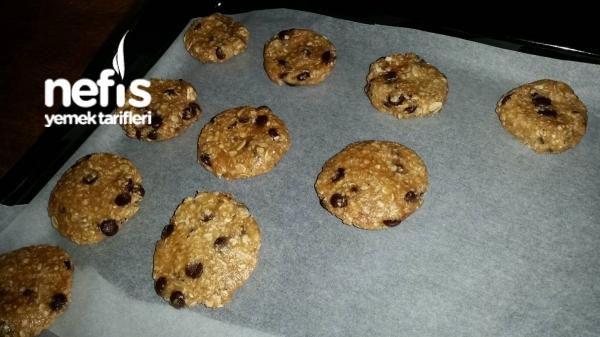 Kolay Yulaf Cookies