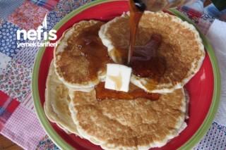Yumurtasız Ve Sütsüz Pancake