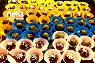 İkramlık Çikolata Topları Tarifi