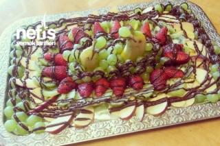Çikolatalı Meyve Sunumu Tarifi