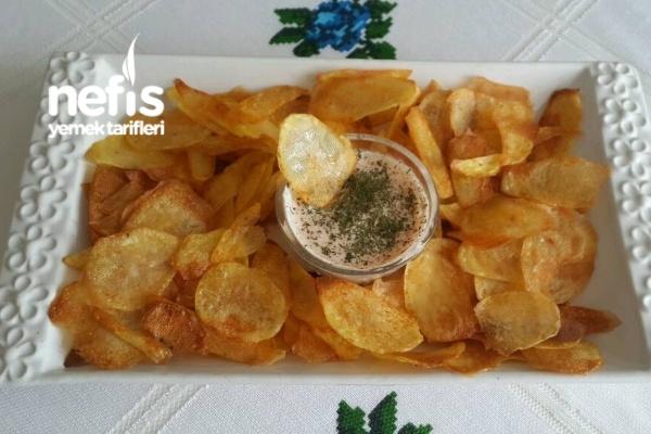 Fırında Patates Cips Tarifi