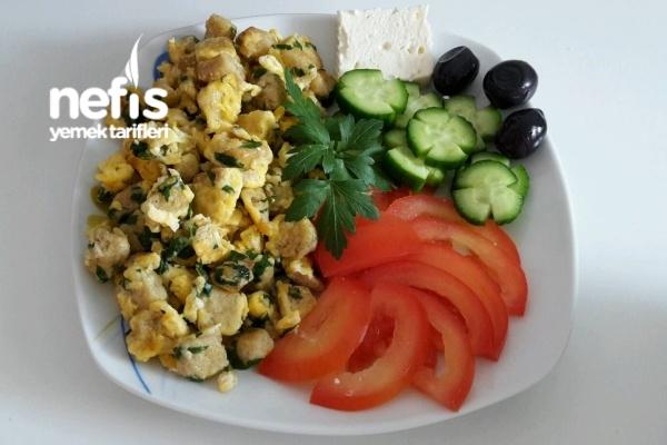 Yumurtalı Buğday Ekmeği Diyet Kahvaltısı Tarifi