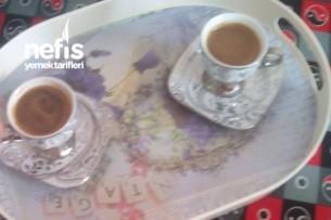 Ballı Tereyağlı Türk Kahvesi ( Kızımla Kahve Keyfi) Tarifi