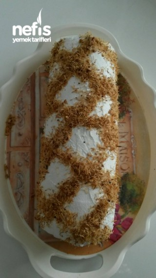 Kadayıflı Rulo Pasta