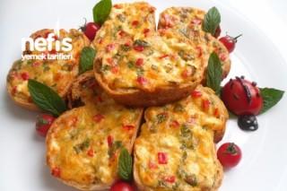 Peynirli Ekmek Dilimleri Tarifi