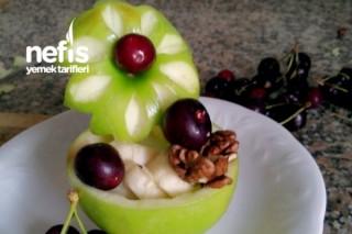 Cocuklar İcin Meyve Tabagi Tarifi