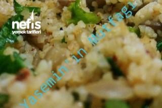 Yeşil Mercimekli Bulgur Salatası Tarifi