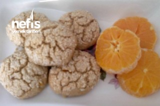 Portakallı Cevizli Kurabiye Tarifi