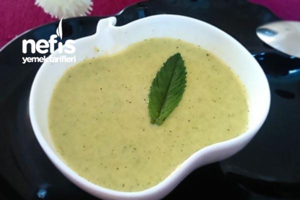 Kremalı Brokoli Çorbası Yapımı