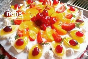 Meyveli Muhteşem Yaş Pasta