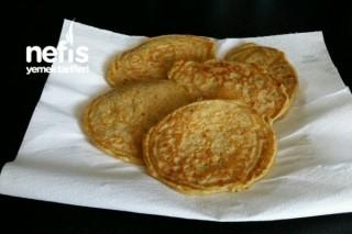 Mozarellalı Pancake 12+ Tarifi