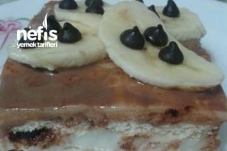 Damla Çikolatalı Bisküvili Pasta Tarifi