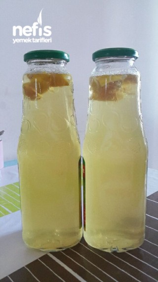 Buzlu Yasemin Çiçeği Aromalı Soğuk Yeşil Çay İçeceği