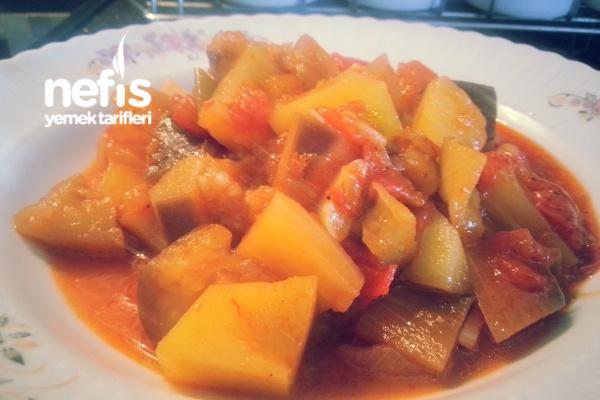 Etsiz Patlıcan Tava (Adana Usulü)