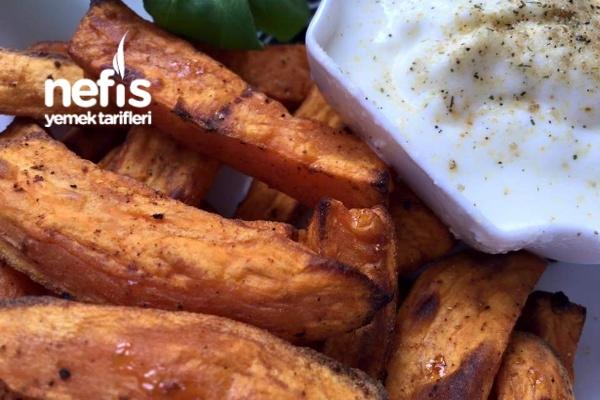 Fırında Baharatlı Tatlı Patates Tarifi