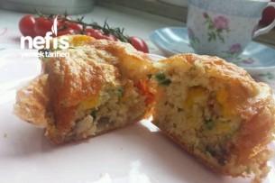 Muffin Pizzası Tarifi