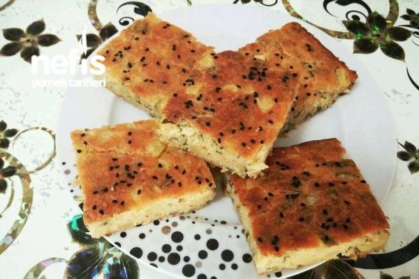 Patatesli Soğanlı Tuzlu Kek Tarifi