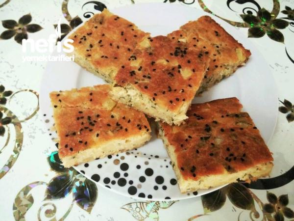 Patatesli Soğanlı Tuzlu Kek