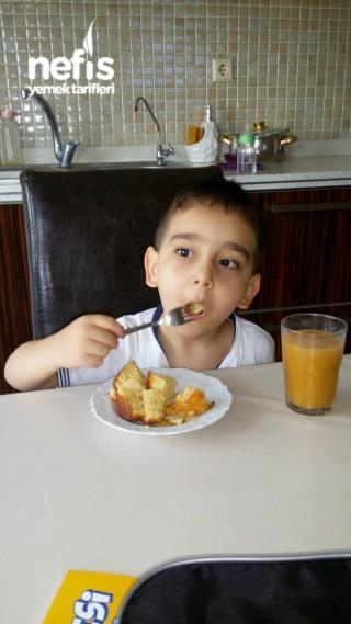 Süt Alerjisi Olan Çocuklar İçin Porsiyon Kek