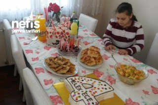 4 Yaş Doğum Günü Tarifi