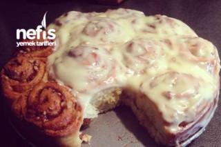 Cinnamonrolls Tarçınlı Cevizli Rulo Çörekler Tarifi
