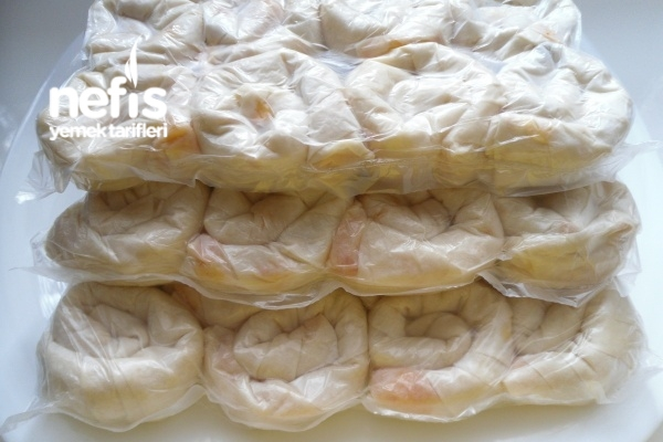 Dondurucu İçin Patatesli Gül Böreği Yapımı Tarifi
