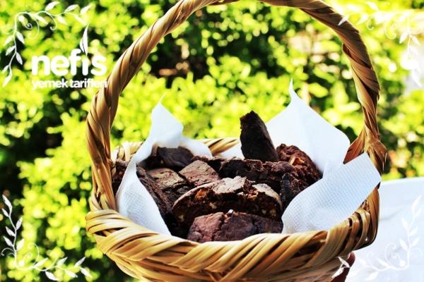 Kakaolu Cevizli Biskotti