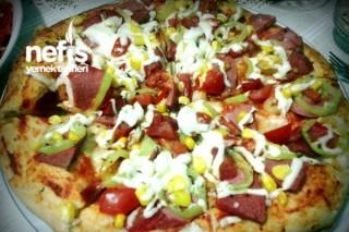 Sahura Nefis Pizza Tarifi