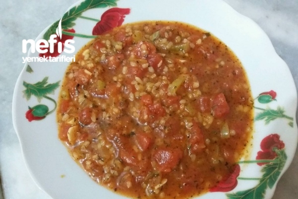 Pirinçli Domates Yemeği Tarifi (videolu)