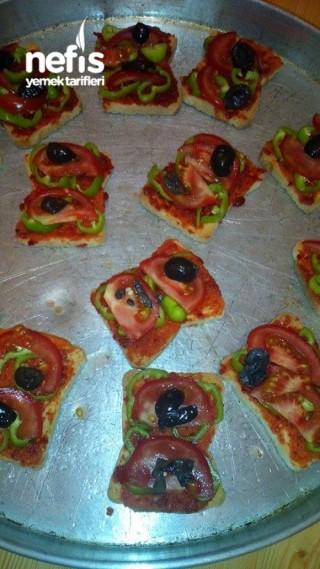 Etimek'li Minik Pizzalar