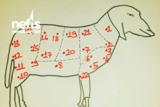 Koyun Etinin Bölümleri ve Pişirilmesi Tarifi