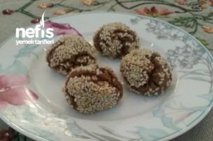 Kakaolu (tahinli) Susamlı Kurabiye Tarifi